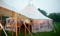 A tent could make those rain clouds disappear.