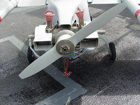Pioneer Pusher-Prop Engine