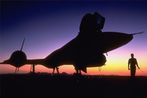 """The SR-71 """"Blackbird"""" was a top secret airplane developed at Area 51."""
