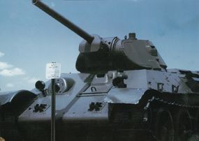 The USSR was able to produce T-34s in a seemingly endless stream. Between 1940 and 1945 some 40,000 T-34 tanks were manufactured.