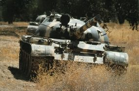 The T-62 Main Battle Tank entered service in the late 1950s but was eventually replaced in all Soviet frontline armored forces.