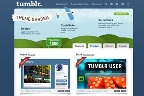 Users can fully customize their Tumblr pages.
