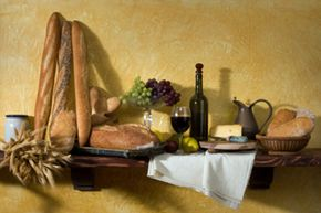 This vignette would be right at home in your Tuscan kitchen.