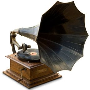 While the gramophone is unlikely to make a comeback, you can purchase modern turntables designed to replicate its look.