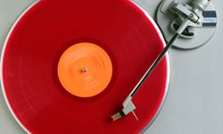 Colored vinyl continues to be popular with collectors.