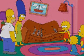 How come the Simpsons haven't aged in 25 years? Could it be due to their living in a time loop?