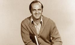 If you're a fan of minimalism, Bob Newhart's apartment might fit your style.