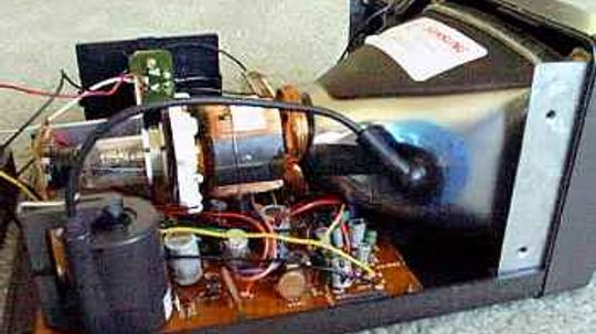 Why do CRT monitors contain lead?