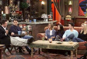 Six friends who hang out in a coffee shop -- a simple concept that lasted for 10 seasons. See more TV show pictures.
