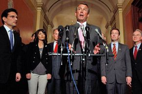 Congressional leaders like House Speaker John Boehner often use the press to help get across their messages to their constituents and the American public.