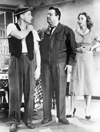"""""""The Honeymooners,"""" and many sitcoms after it, was shot in front of a studio audience."""