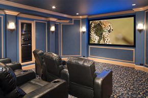 Home theater have two big advantages over movie theaters: convenience and affordability.