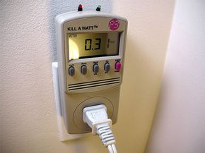 The power meter Kill A Watt is the basis behind the Tweet-A-Watt gadget. See more green science pictures.