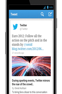 Ubiquity is part of Twitter's appeal. You can post and read tweets from just about any Internet-connected device.