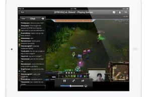 Feeling social? You can chat with players and viewers on a Twitch channel.