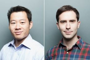 Twitch co-founders Justin Kan (left) and Emmett Shear