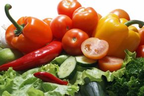 Being a vegetarian doesn't mean it's all vegetables all the time. See more vegetable pictures.