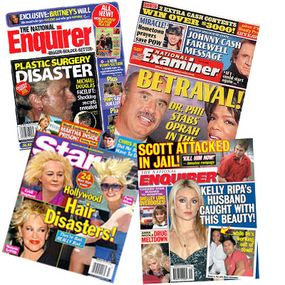 Tabloid stories are not based on hard facts but rather on what purported witnesses or experts say is true.