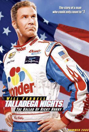 """Will Ferrell in """"Talledega Nights: The Ballad of Ricky Bobby"""""""
