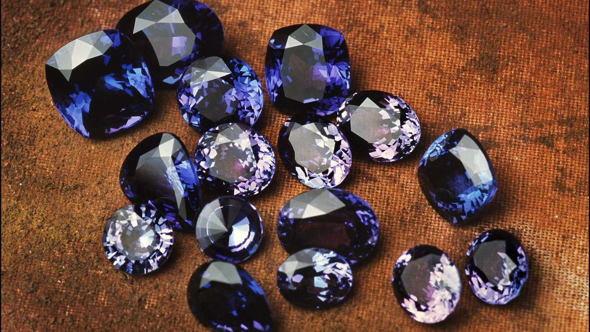 タンザナイトはアフリカの真のブルーダイヤモンドです