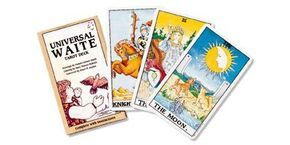 The tarot deck most commonly used in the U.S. is the Rider-Waite tarot deck.