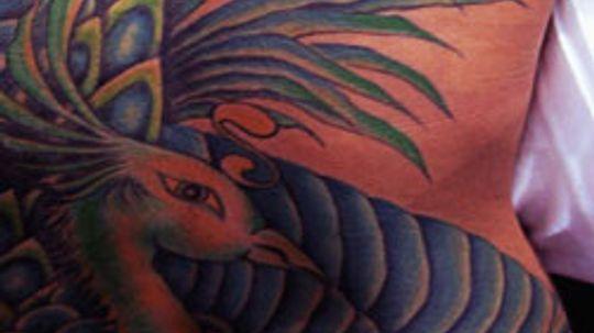 Can sandpaper remove tattoos?