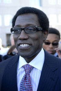 On February 1, 2008, actor Wesley Snipes was acquitted on several tax fraud charges. However, he was also convicted of three misdemeanors and was sentenced to three years in prison.