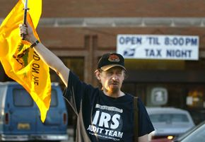 Protesting the IRS won't save you from your income tax obligations.