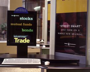 Inside the Fidelity Investments offices in New York City. Mutual funds are a popular investment option. See more investing pictures.
