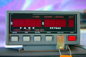 Most cab riders rely on the meter to determine the fare, but don't give a thought to how the meter actually works.