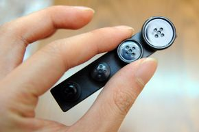 Camera technology fits into the tiniest of places -- even something as innocent-looking as a shirt button could contain spy gear.