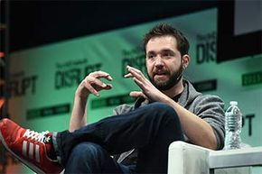 Co-founder of Reddit and partner at Y Combinator, Alexis Ohanian, speaks onstage during TechCrunch Disrupt NY 2015.