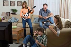 Make gaming a family affair, and bond over your love of shredding on the guitar!