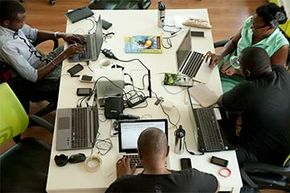 Tech incubators are worldwide. Nairobi, Kenya's innovation hub, iHub, is part open community workspace, part vector for investors and VCs and part incubator.