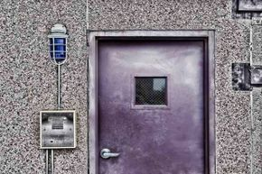 A steel door could protect your home from getting blown in.