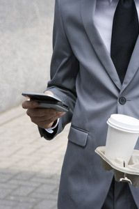 BlackBerries and similar devices keep people connected so they can do business from anywhere.