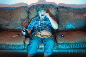 To some people, the rise of sit-down technology seems to have led to a rise in obesity.