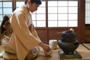 Hosting a tea ceremony