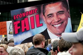 The Tea Party was born out of outrage over the federal government's costly initiative to rescue the U.S. economy from a debilitating recession. See more election memorabilia pictures.