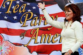 Former Alaska Gov. Sarah Palin became an early face of the Tea Party.