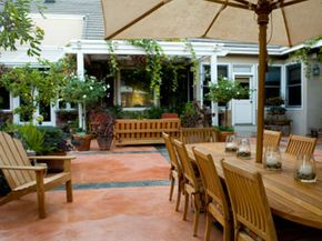 What's so great about Teak furniture? Durability and natural weather resistance are two of the big factors.
