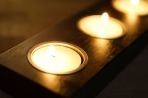 A tealight candle holder can bring an elegant quality into your home.
