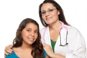 Pre-teen girls should have a wellness exam before puberty starts.