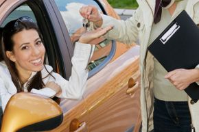 A mid-size sedan may not be the most exciting vehicle, but that's what makes it a good choice for a teen driver.