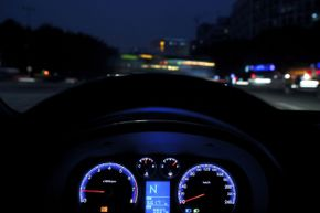 Driving at night has a higher risk for any driver, so inexperienced drivers should avoid after-dark excursions.