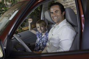 You don't have to wait for your child to be a teen to set a good driving example.