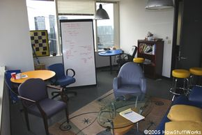 Some web conferencing programs can replicate real-world whiteboards.