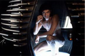 """Seth Brundle, Jeff Goldblum's character in """"The Fly"""" reminds us just how messy the whole teleportation business can be."""