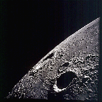 Copernicus crater on the Moon