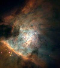 The Orion nebula (M42)